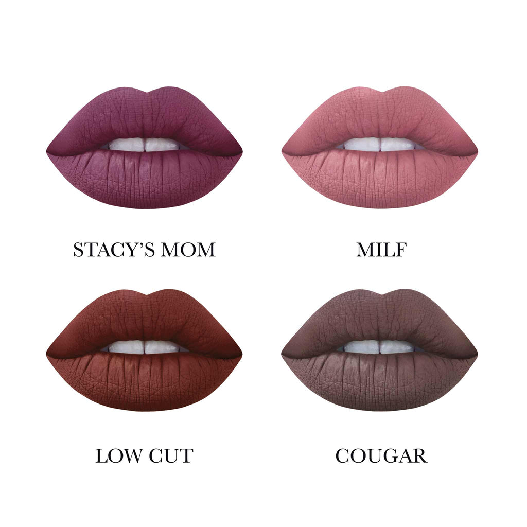 M$LF Velvetines Collection Lip Swatches