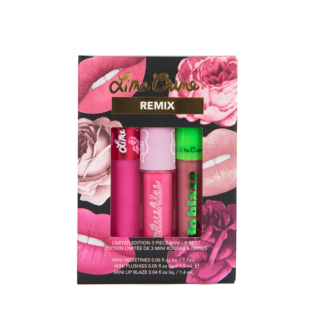 REMIX MINI LIP SET