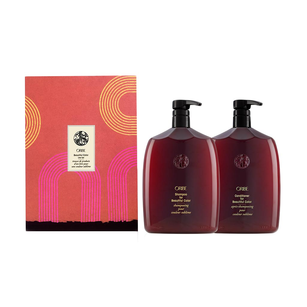 BEAUTIFUL COLOR SHAMPOO & CONDITIONER LITER SET