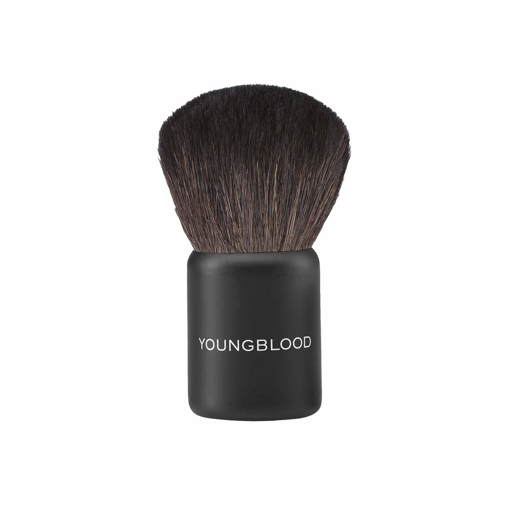 Natural Hair Brush - Small Kabuki Brush