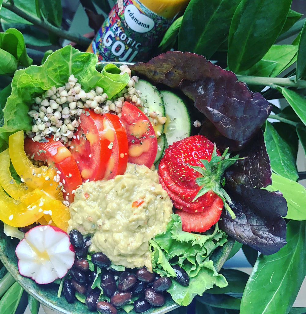 SALAD BUDDHA BOWL (+ The Best Salad Sauce Ever!)