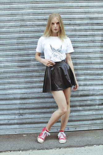 Looking Better faux leather skirt - Non Existent The Label
