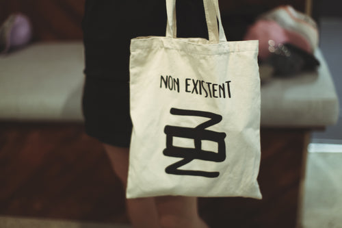 Inscription Totebag - Non Existent The Label