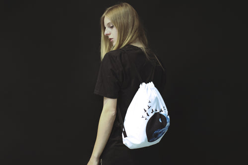 Tranquility Drawstring Backpack - Non Existent The Label