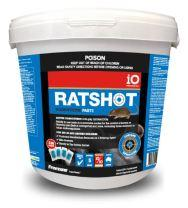 iO Ratshot Paste 240gm Blue Difenacoum