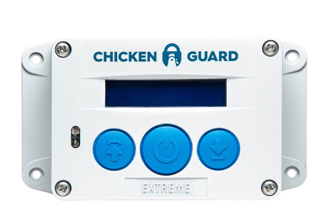 ChickenGuard Automated Chicken Coop Door Opener (Motor only) - Extreme