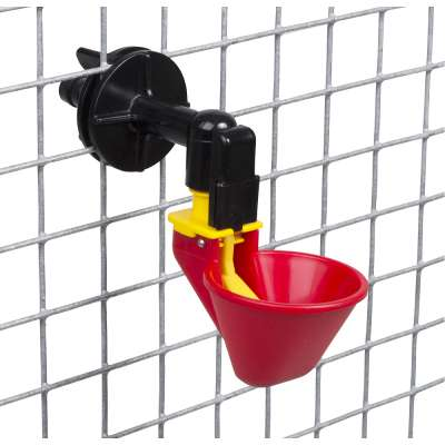 Red Drinking Cup - Large - with cage connector