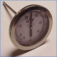 Thermometer/ Hygrometer GQF Wet Bulb