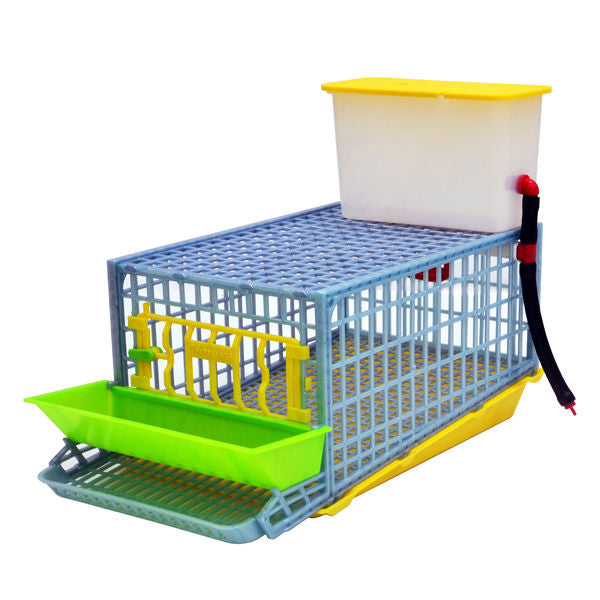 Comfortplast - quail layer cage - single