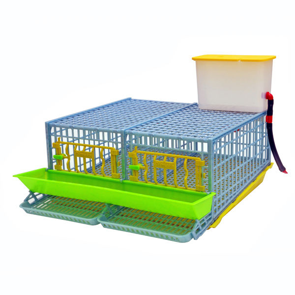 Comfortplast - quail layer cage - double