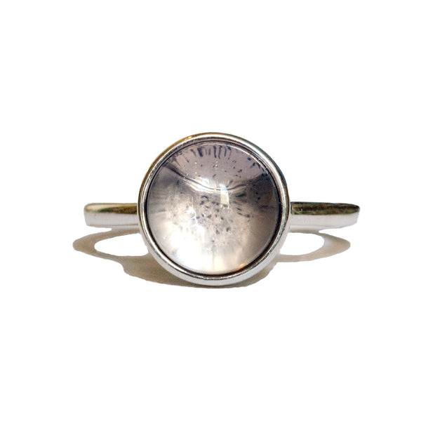 Zircon Moon Ring