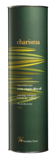 Charisma extra virgin olive oil 750ml, by Vassilakis Estate