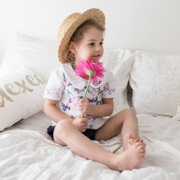 Fields of Flutter Rompers and Onesies - My Lily-Ann - Handmade Children's Clothing