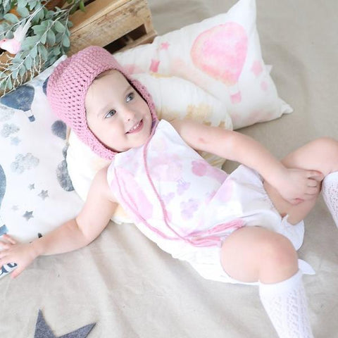 Float in Love White Rompers and Onesies - My Lily-Ann - Handmade Children's Clothing
