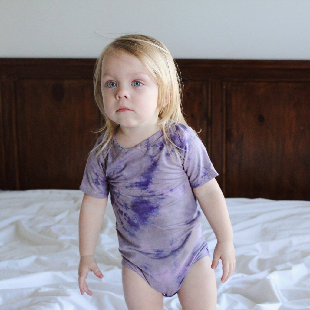 Lilac Lavender Tie Dye - My Lily-Ann - Handmade Children's Clothing
