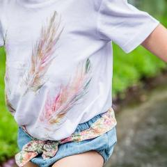 Feathers - My Lily-Ann - Handmade Children's Clothing