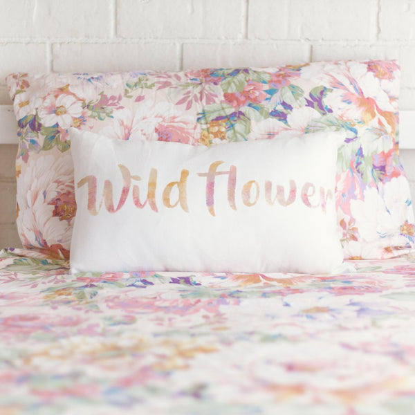 Wild Flower Cushion - My Lily-Ann - Handmade Children's Clothing