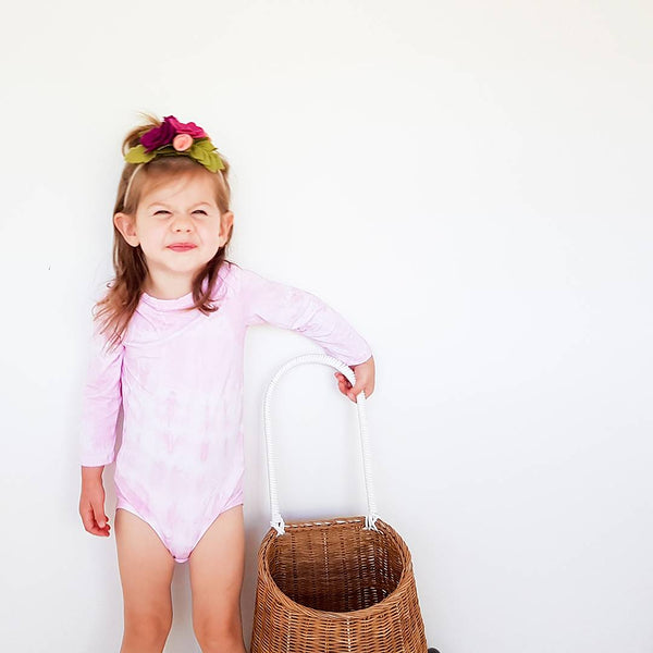 Candy pink Tie Dye - My Lily-Ann - Handmade Children's Clothing