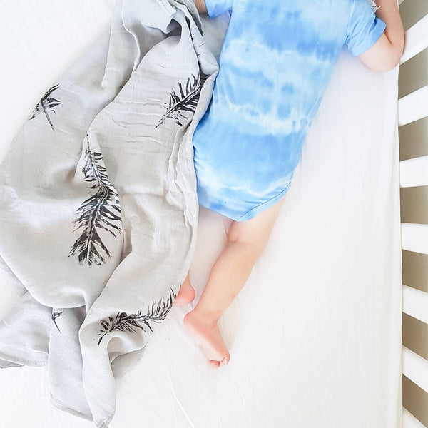 Blue Bird Tie Dye - My Lily-Ann - Handmade Children's Clothing