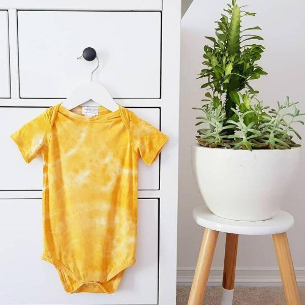 Golden Ochre Tie Dye - My Lily-Ann - Handmade Children's Clothing