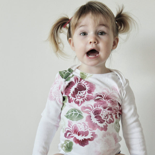 Wild Flower Romper - My Lily-Ann - Handmade Children's Clothing