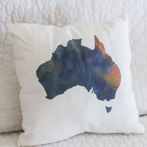 Map Cushion - My Lily-Ann - Handmade Children's Clothing