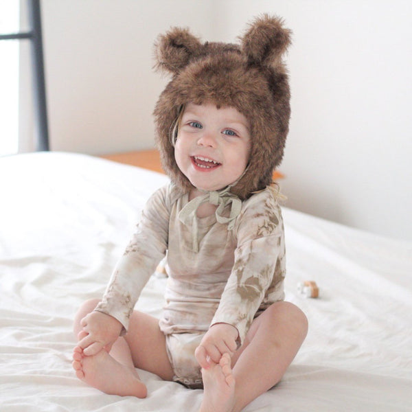 Mousey Brown Tie Dye - My Lily-Ann - Handmade Children's Clothing