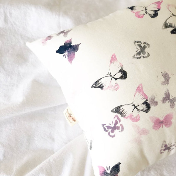 Fields of Flutter Cushion - My Lily-Ann - Handmade Children's Clothing