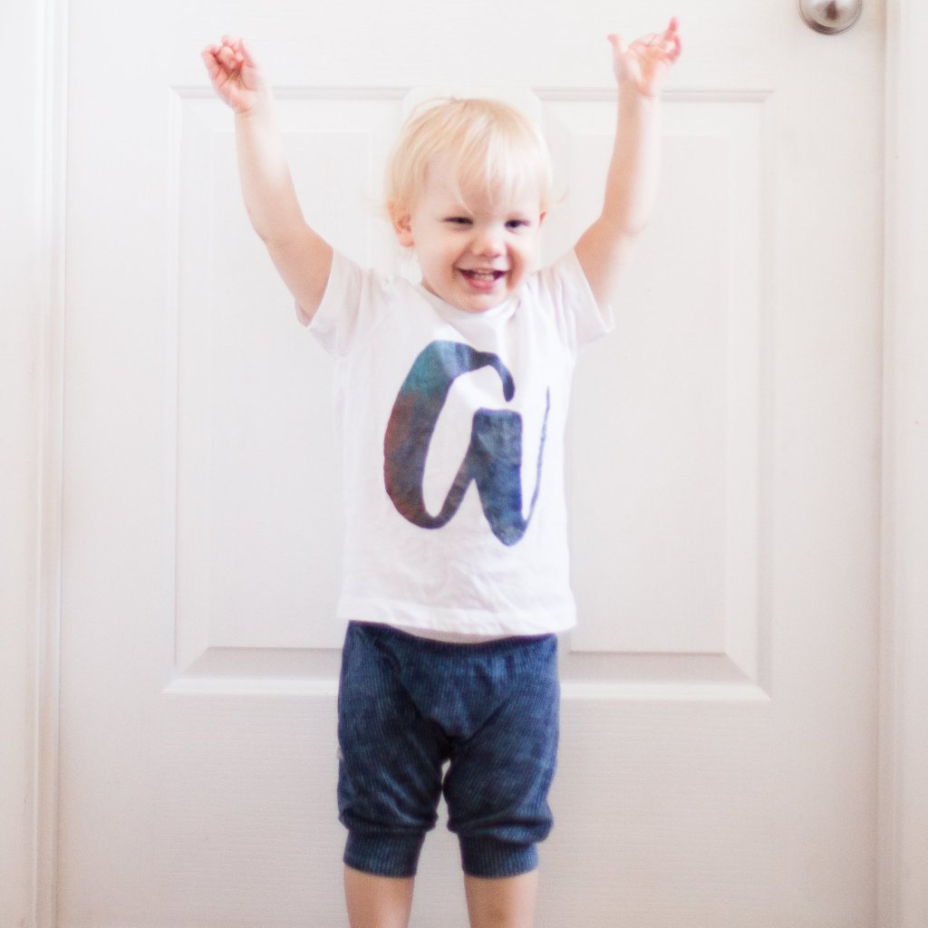 Initial Tee - My Lily-Ann - Handmade Children's Clothing