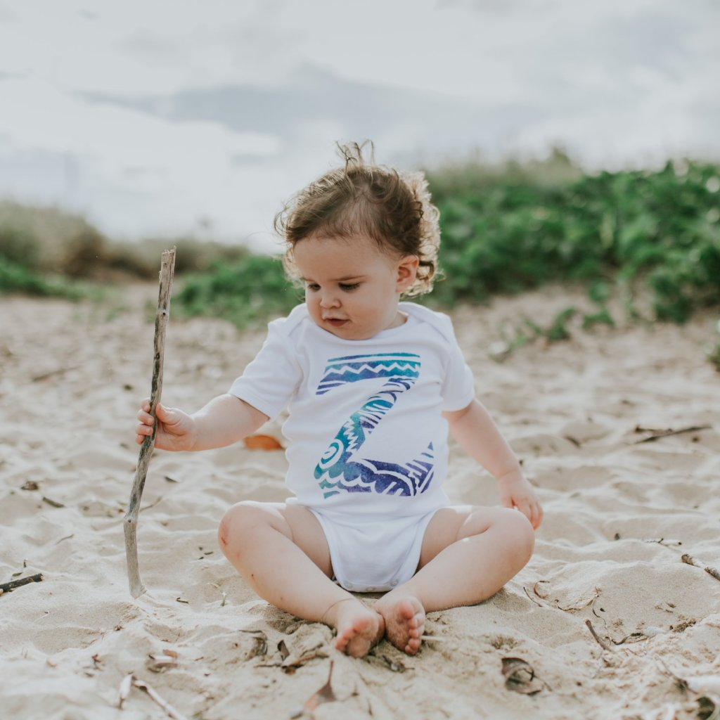 Tribal Initials - My Lily-Ann - Handmade Children's Clothing