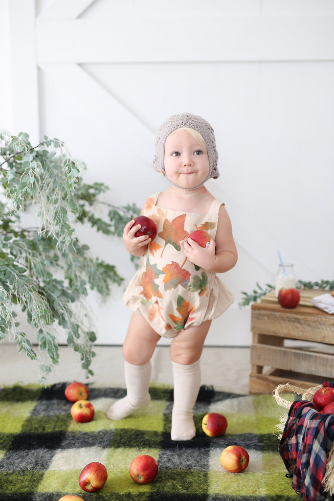 Fall in love Romper - My Lily-Ann - Handmade Children's Clothing