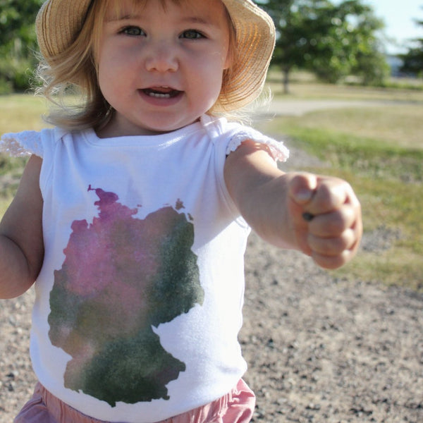 Zahause Map Rompers and Onesies - My Lily-Ann - Handmade Children's Clothing