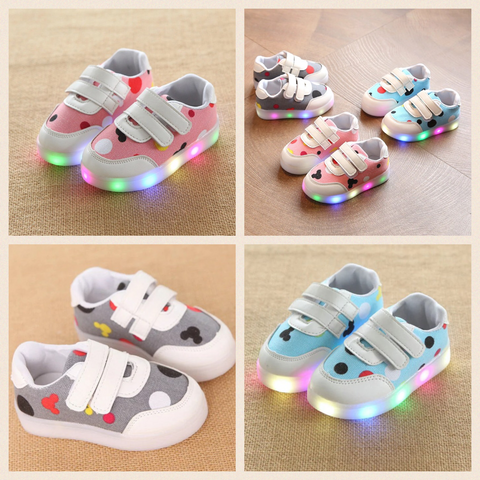 Mickey Mouse Light Up Shoes