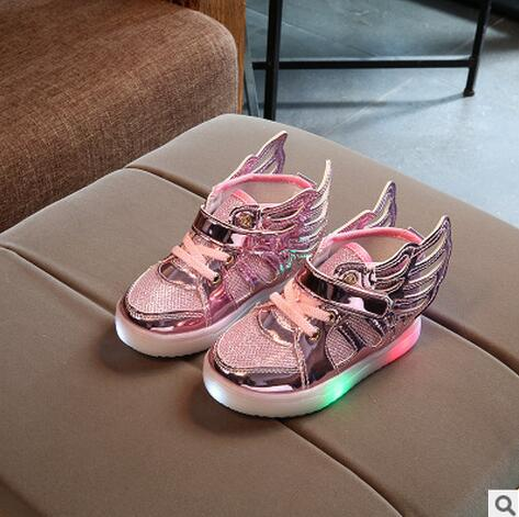 Winged Light Up Shoes