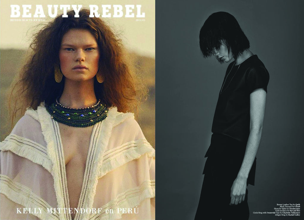 Beauty Rebel Magazine featuring CLON8 Trousers,UK