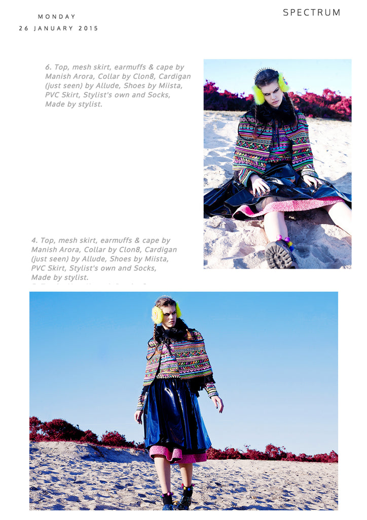 SÝN Magazine featuring CLON8 Collar, UK