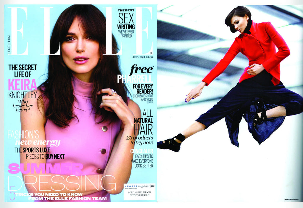 ELLE Magazine featuring CLON8 Trousers,UK