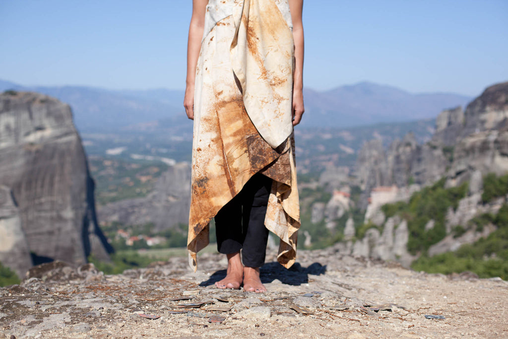 METEORA: The spiritual connection between earth and fabrics.