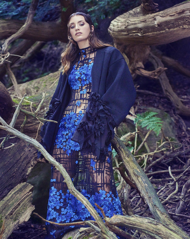 PHOENIX Magazine feature Flora Jacket,Primavera Collection by CLON8,UK