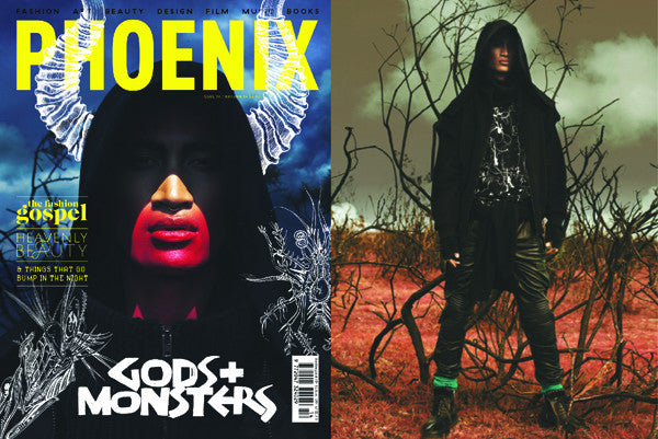 Phoenix Magazine Cover and editorial feature CLON8 Jacket,UK