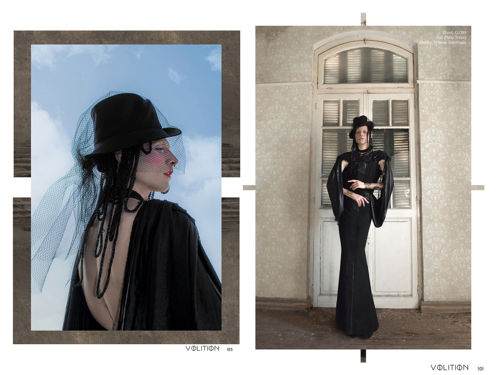 Press Volition Magazine Issue 20 CLON8 Moirai editorial