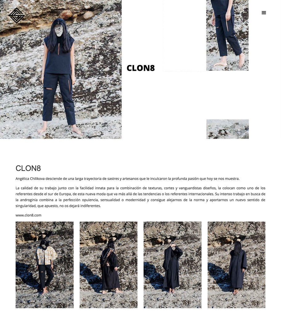 SSSTENDHAL Magazine featuring CLON8 Meteora Collection, Spain