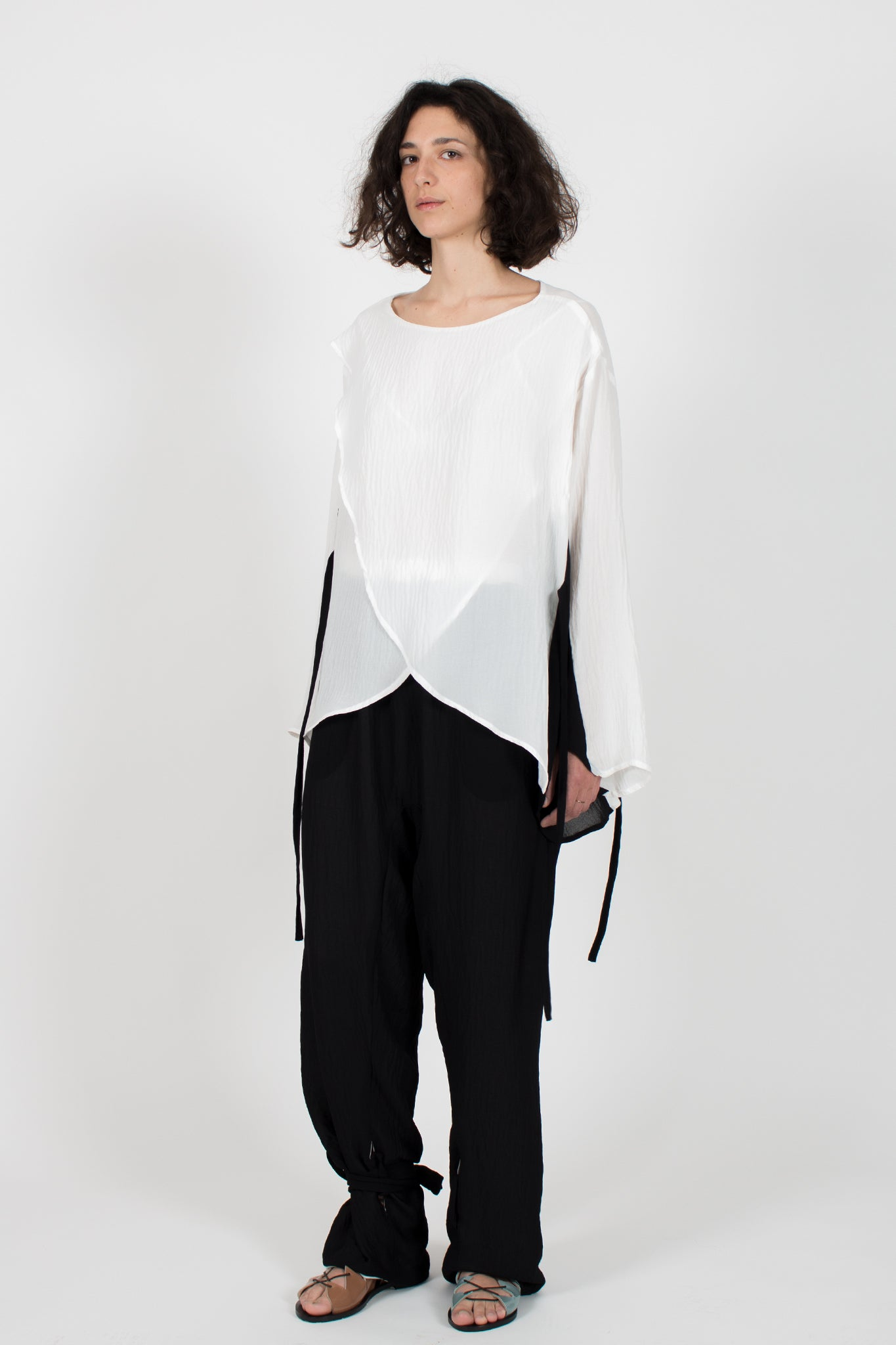 Shop CLON8 Kindness Top and Relax Double Face Trousers