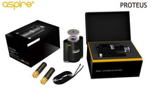 Load image into Gallery viewer, Aspire Proteus E-hookah 18ml (ny versjon!)