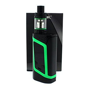 Smok alien 220w black green kit - Vape norge