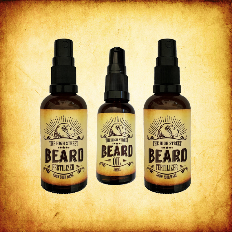 Beard Fertilizer and Beard Oil Combo
