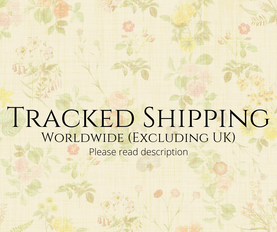 Tracked Postage Worldwide - add on service only.