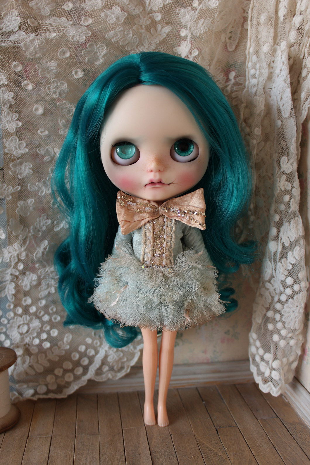 Soft Light Tutu. A dress for Blythe