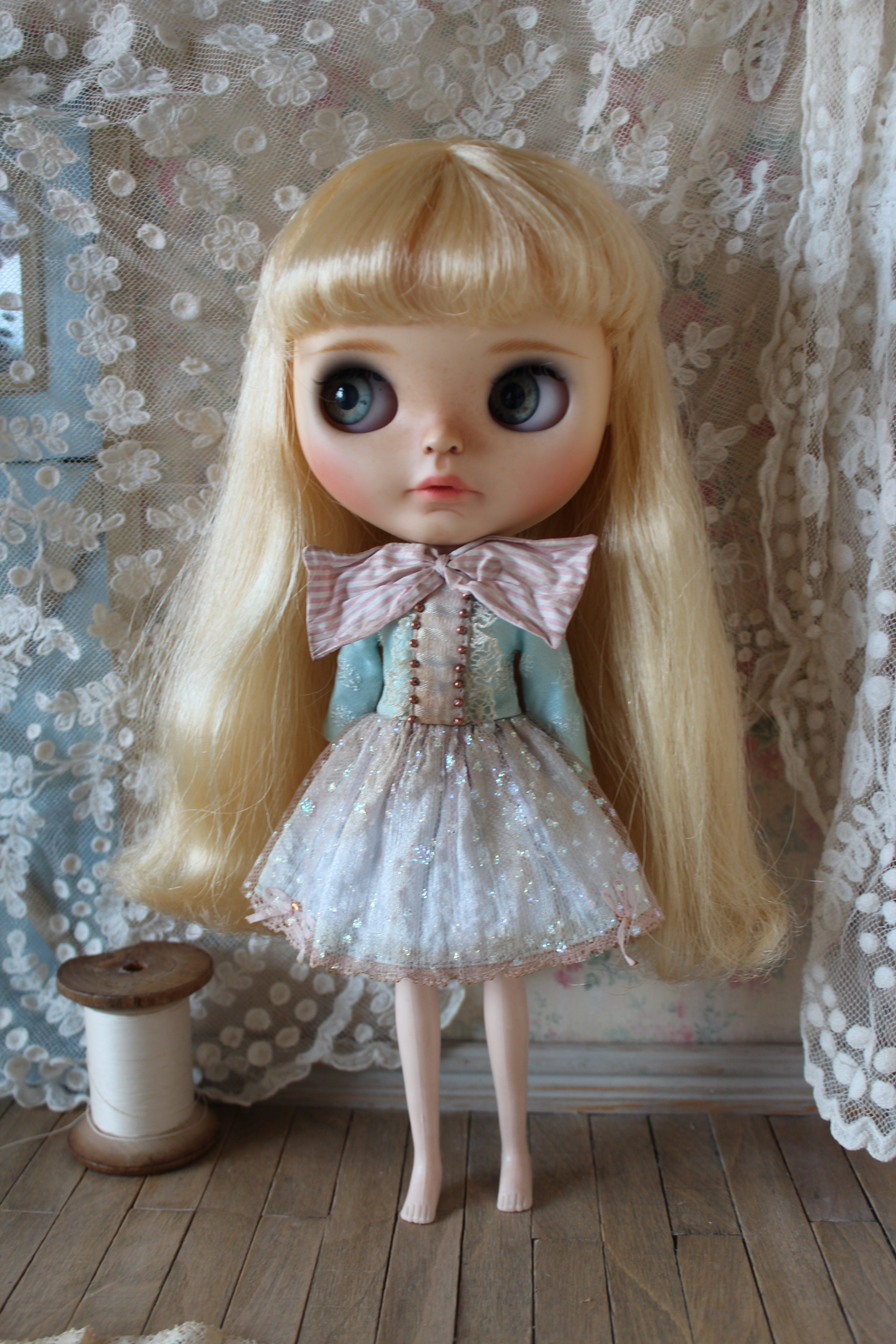 Soap Bubbles. A dress for Blythe