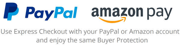 FidgetEU Accept PayPal & Amazon Pay